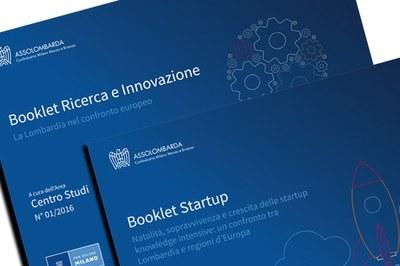 Booklet Ricerca e Innovazione e Booklet Startup