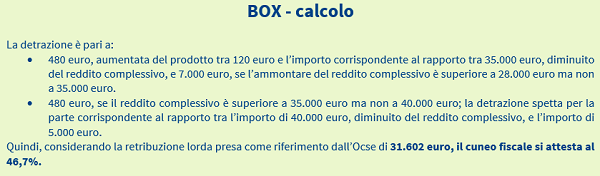 imm5 - box calcolo
