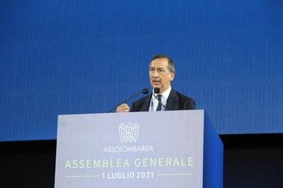 Giuseppe Sala, Sindaco di Milano all'Assemblea Generale 2021