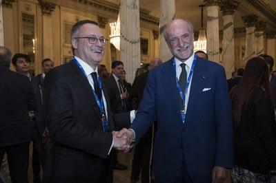 Carlo Bonomi e Gianfelice Rocca - Assemblea Generale Assolombarda 2017