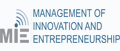 MIE - Management of Innovation and Entrepreneurship