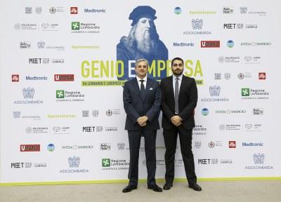 Genio e Impresa - Inaugurazione mostra