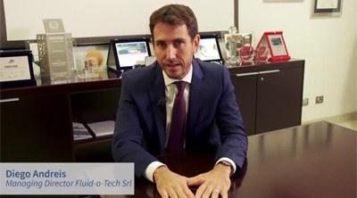 L'esperienza di Fluid-o-Tech, Diego Andreis, Managing Director - Tecnologie abilitanti: IoT, Interfacce uomo-macchina, System integration, Big data, Analytics, Sensori