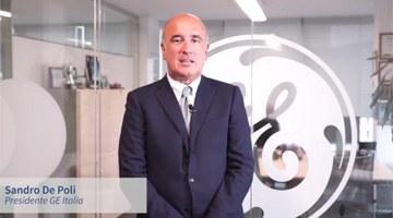 L'esperienza di GE Italia, Sandro De Poli, Presidente – Tecnologie abilitanti: System integration, Additive manufacturing, Big data, Analytics