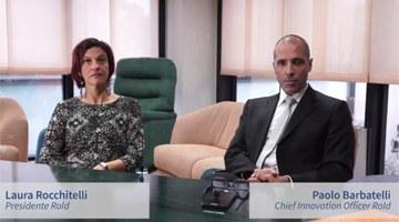 L'esperienza di Rold, Laura Rocchitelli, Presidente, e Paolo Barbatelli, Chief Innovation Officer - Tecnologie abilitanti: Interfacce uomo-macchina, System integration, Analytics, Sensori, Realtà aumentata