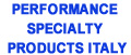 PERFORMANCE SPECIALTY PRODUCTS ITALY