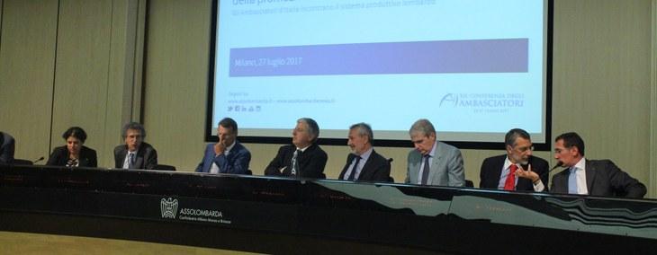 """Bonomi: """"serve una strategia condivisa tra istituzioni e imprese per far crescere il Sistema Italia all'estero"""""""