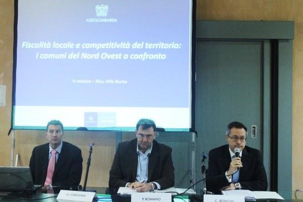 Fiscalità locale e competitività del territorio: i comuni del Nord ovest a confronto