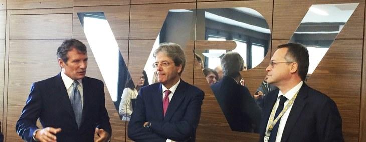 Il Presidente del Consiglio Gentiloni visita le eccellenze della Brianza