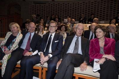 Milano, il Futuro - Carlotta de Bevilacqua, Sergio Dompé, Enrico Cereda e Marco Tronchetti Provera