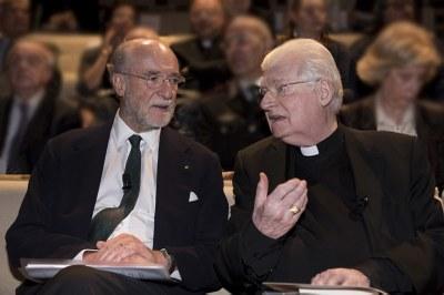 Milano, il Futuro - Gianfelice Rocca, Presidente Assolombarda e Angelo Scola, Arcivescovo di Milano