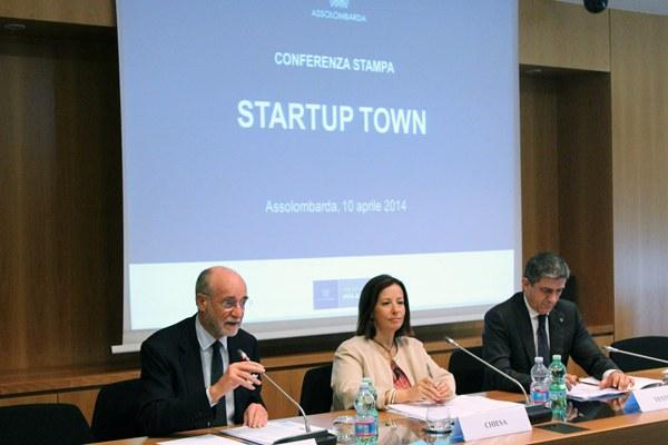 Assolombarda presenta il progetto Startup town