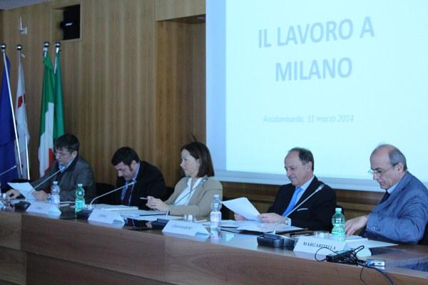 Presentato il Rapporto 'Il lavoro a Milano'