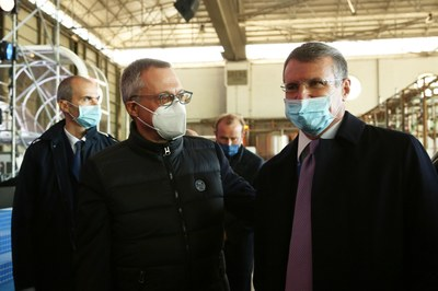 Carlo Bonomi, Presidente di Confindustria e Alessandro Spada, Presidente di Assolombarda