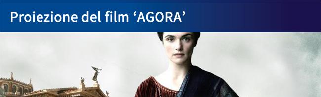 Proiezione film Agora