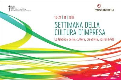 XV Settimana della Cultura d'Impresa