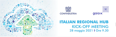 Progetto Gaia-X Italia. Evento di lancio di Confindustria, 28 maggio ore 9.30
