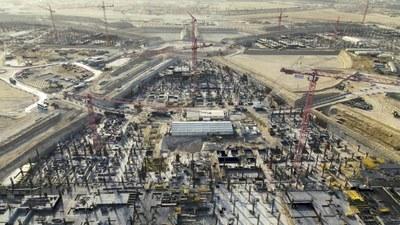 I Padiglioni di Expo Dubai 2020 iniziano a sorgere dal deserto