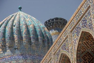 L'Uzbekistan cresce al centro della nuova via della seta. Milano, 16 aprile
